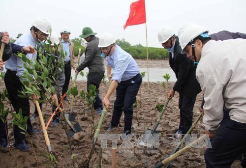Mitin en Vietnam por Dia Mundial de los Humedales hinh anh 1
