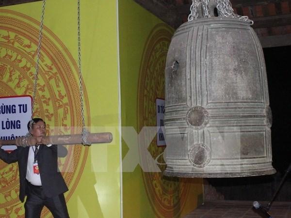 Reconocen en Vietnam a campanas antiguas como tesoro nacional hinh anh 1