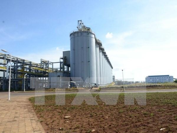 Fabrica vietnamita exporta primeros lotes del hidroxido de aluminio al exterior hinh anh 1