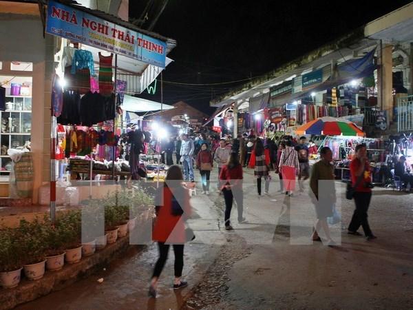 Efectuan fiesta cultural de etnia minoritaria Mong en Ha Giang hinh anh 1