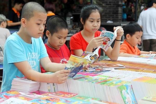 Cierra sus puertas Calle de libros en Hanoi hinh anh 1
