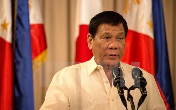 Presidente filipino advierte de ofensivas en caso de ataques de rebeldes hinh anh 1
