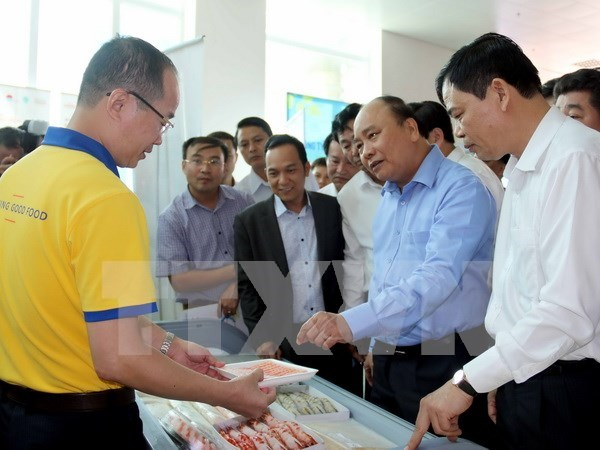 Vietnam fija meta de 10 mil millones de dolares por exportaciones de camarones hinh anh 1