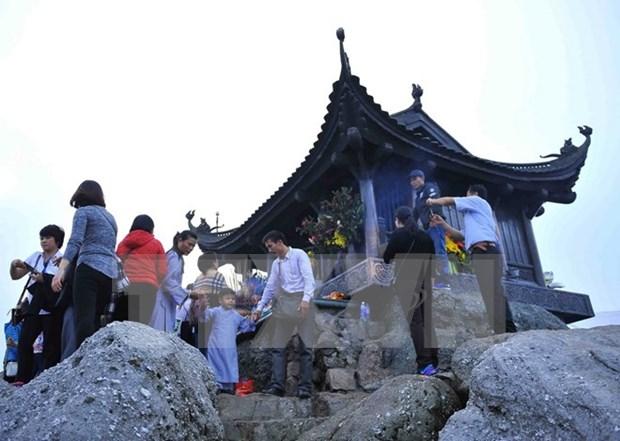 Celebran Festival Yen Tu 2017 en provincia vietnamita hinh anh 1