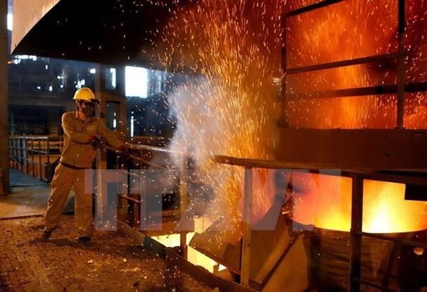 Lanzan proyecto multimillonario de complejo de aceria en Quang Ngai hinh anh 1
