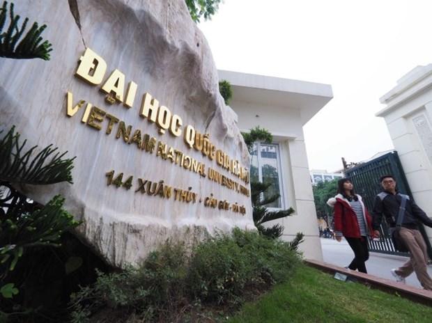 Universidad Nacional de Hanoi ocupa primer lugar en Vietnam, segun Webometrics hinh anh 1