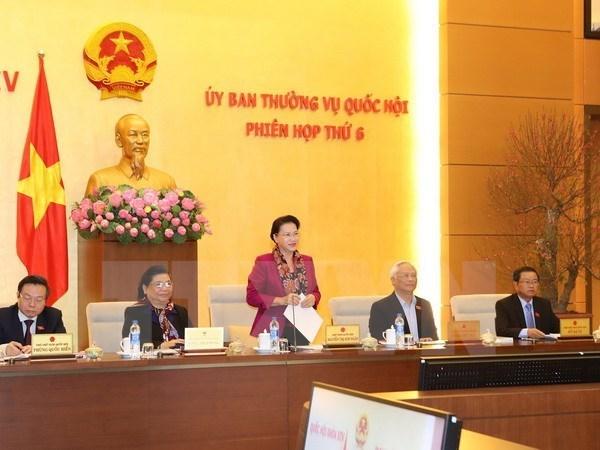 Comite Permanente de Parlamento vietnamita celebrara 10 sesiones en 2017 hinh anh 1