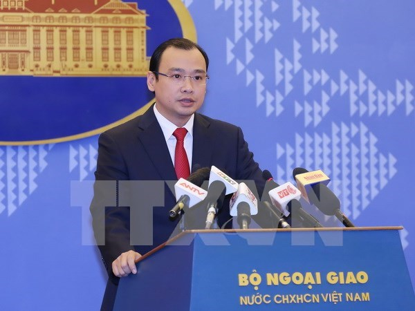 Portavoz: Apertura de sucursal bancaria china en isla vietnamita es ilegal hinh anh 1