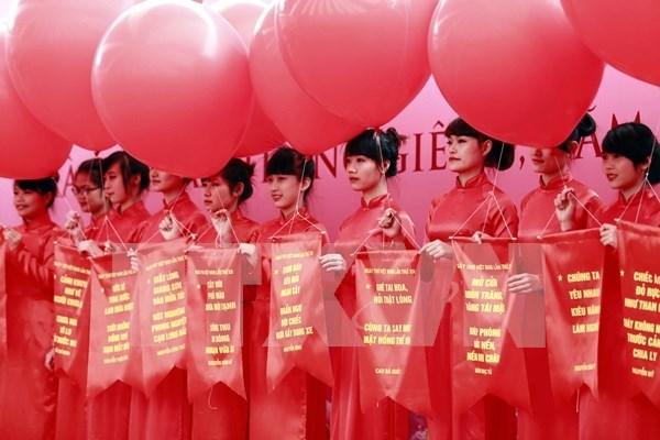 Inauguraran en Hanoi Dia Nacional de la Poesia 2017 hinh anh 1