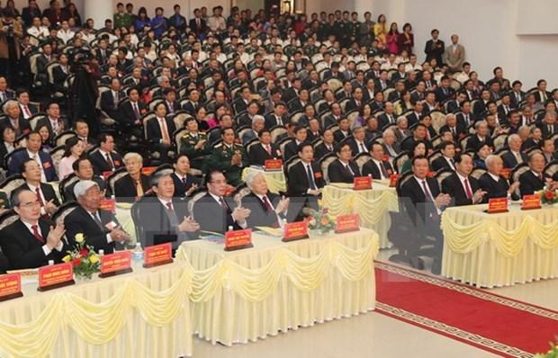 Conmemoran en Vietnam natalicio de difunto lider partidista hinh anh 1