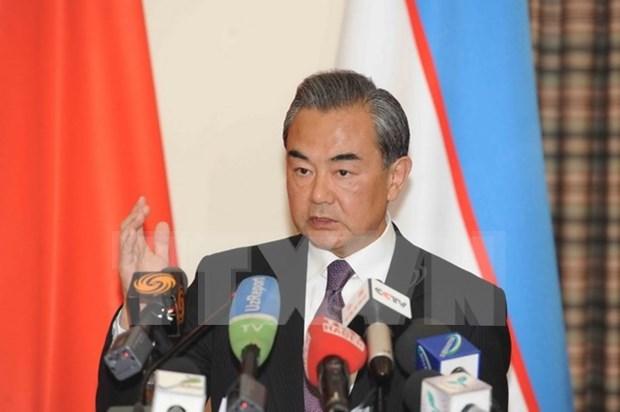 Canciller chino exhorta a acelerar negociaciones sobre RCEP hinh anh 1