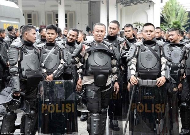 Indonesia movilizara a 75 mil policias por elecciones locales hinh anh 1