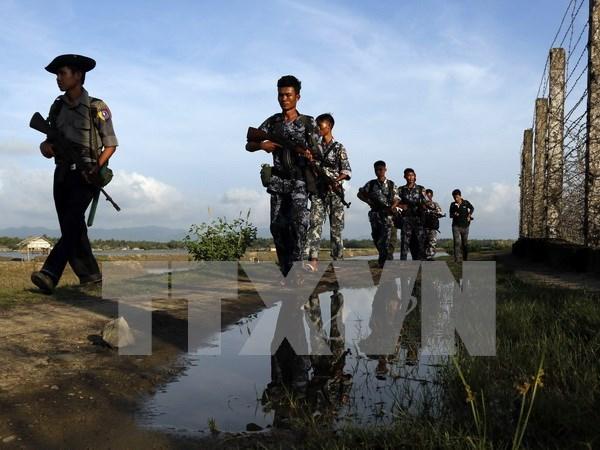 Myanmar alivia el toque de queda en estado occidental hinh anh 1