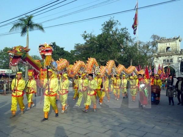 Inauguran festival en homenaje a los reyes Tran de Vietnam hinh anh 1