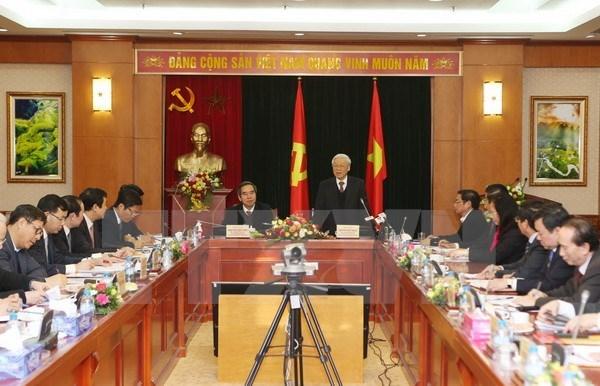 Lider partidista pondera logros del Departamento Economico del PCV hinh anh 1