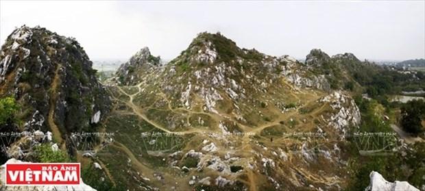 La impresionante montana Tram hinh anh 1