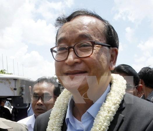 Cambodia: Lider opositor renuncia al partido CNRP hinh anh 1