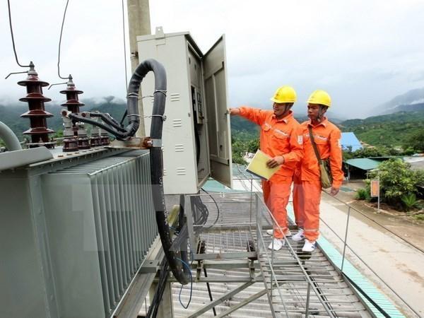 Grupo de Electricidad de Vietnam asegura energia para parques industriales hinh anh 1
