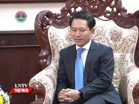 Canciller de Laos concluye visita a Singapur hinh anh 1