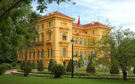 Palacio Presidencial de Vietnam entre mansiones mas bellas del mundo hinh anh 1