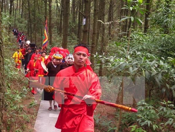 Celebran ritual dedicado al cielo y la tierra en provincia nortena de Vietnam hinh anh 1