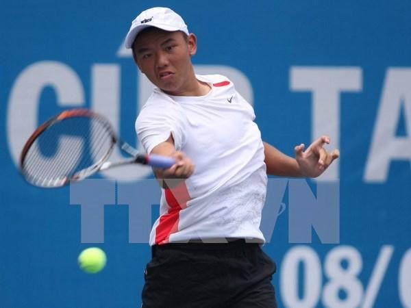 Tenista Ly Hoang Nam jugara en evento chino F1 Future hinh anh 1