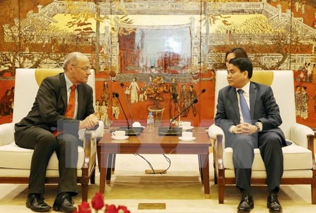 Hanoi busca impulsar cooperacion con ciudades francofonas hinh anh 1