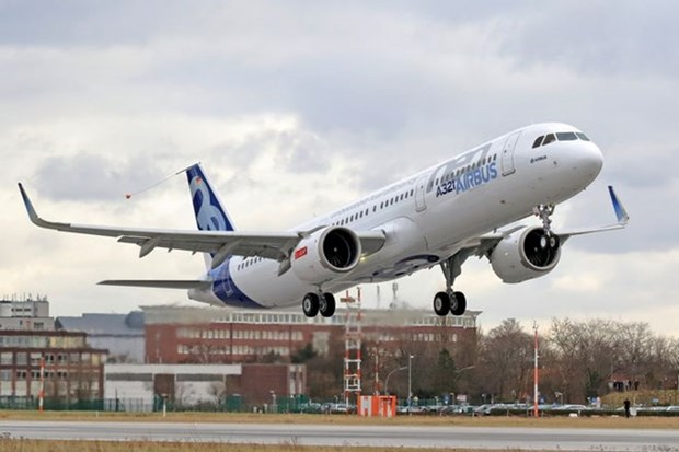 Vietnam Airlines moderniza su flota con aviones Airbus A321neo hinh anh 1