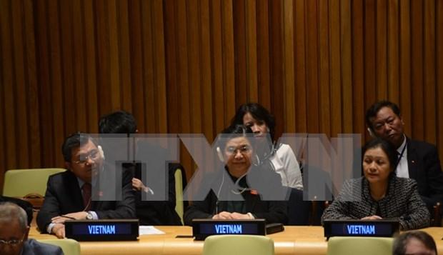 Destaca ONU contribucion de Vietnam al cumplimiento de metas de desarrollo sostenible hinh anh 1