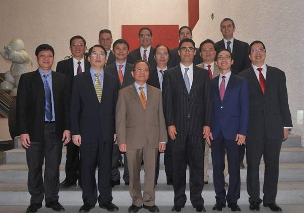 Fortalecen Vietnam y Mexico cooperacion financiera hinh anh 4