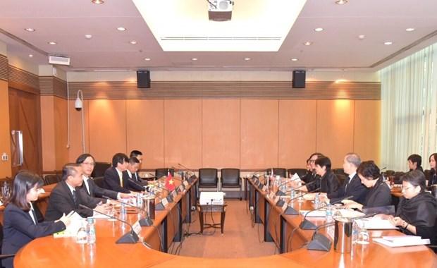 Vietnam y Tailandia buscan aumentar comercio bilateral a 20 mil millones de USD hinh anh 1