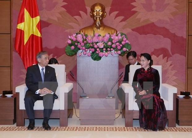 Parlamento vietnamita hara maximos esfuerzos por impulsar nexos con Japon hinh anh 1