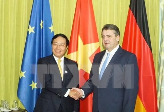 Vietnam y Alemania acuerdan mejorar relaciones bilaterales hinh anh 1