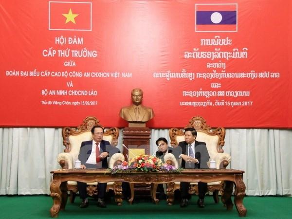 Vietnam y Laos fomentan cooperacion en seguridad publica hinh anh 1