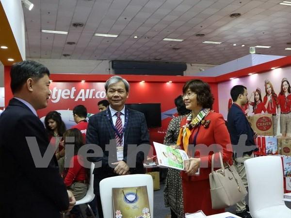 Empresas vietnamitas participan en mayor feria de turismo en Asia del Sur hinh anh 1