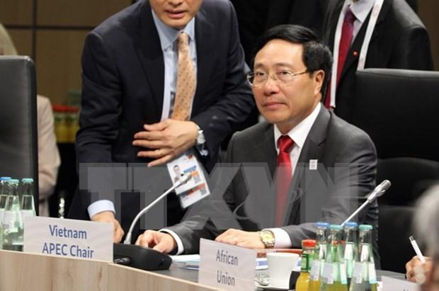 Vietnam llama a G20 a incrementar cooperacion para desarrollo sostenible hinh anh 1