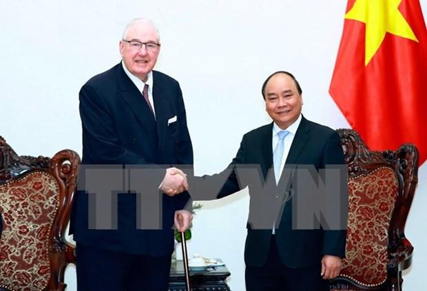 Primer ministro de Vietnam promete condiciones favorables para empresas extranjeras hinh anh 1