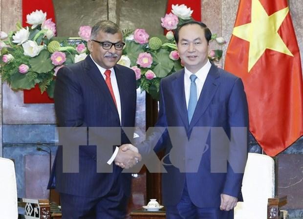 Presidente vietnamita urge a impulsar cooperacion judicial con Singapur hinh anh 1