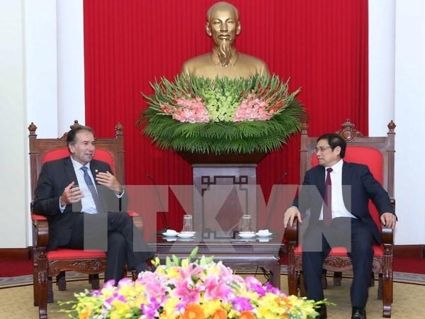 Funcionario partidista de Vietnam desea fomentar lazos con Argentina hinh anh 1