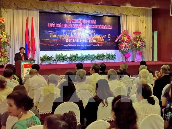 Dirigente laosiano aprecia aportes de Asociacion de Amistad Vietnam – Laos hinh anh 1