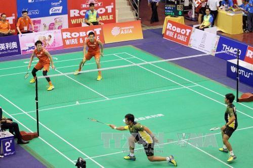 Japon gana campeonato de badminton en Vietnam hinh anh 1