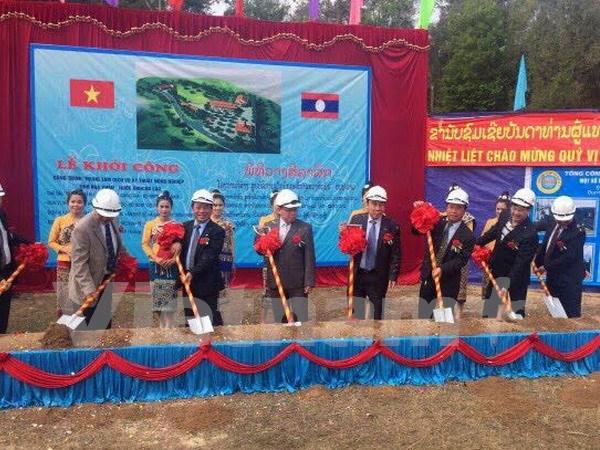 Vietnam ayuda a Laos en el desarrollo de agro-silvicultura hinh anh 1