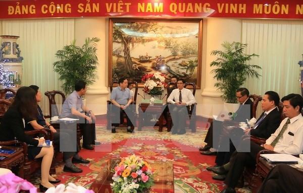 Empresas chinas estudian oportunidades de inversion en provincia vietnamita hinh anh 1
