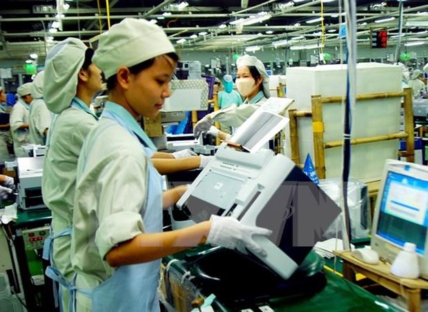 Proporcionan entrenamiento administrativo para Samsung Vietnam hinh anh 1