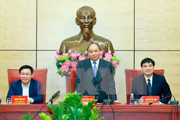 Premier vietnamita insta a Nghe An a impulsar crecimiento hinh anh 1
