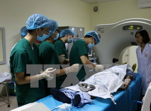 Celebran en Vietnam conferencia sobre aplicacion de medicina nuclear hinh anh 1