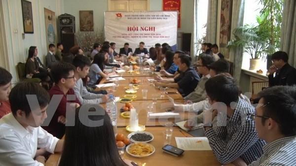 Fuerte desarrollo de organizacion de jovenes vietnamitas en Rusia hinh anh 1
