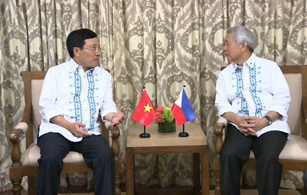 Vietnam y Filipinas acuerdan impulsar cooperacion anticriminal hinh anh 1