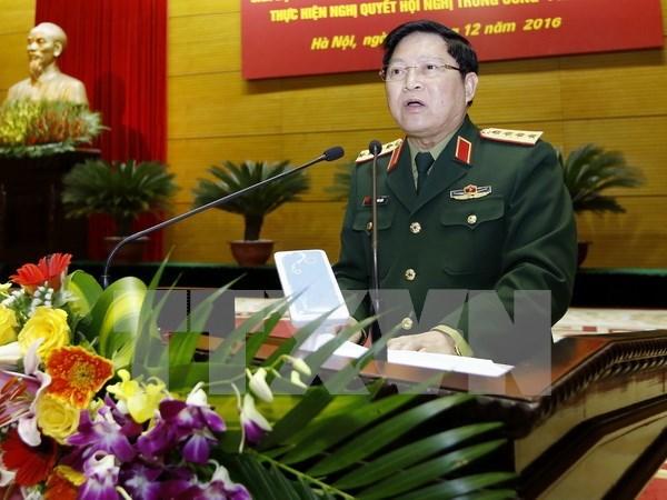 Ministro de Defensa de Vietnam efectua visita oficial a Tailandia hinh anh 1