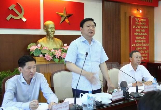 Ciudad Ho Chi Minh y provincia laosiana robustecen cooperacion hinh anh 1